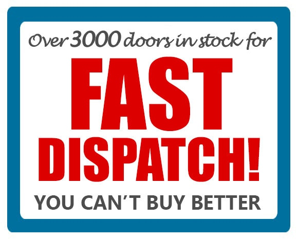 Over 2000 doors in stock for fast dispatch