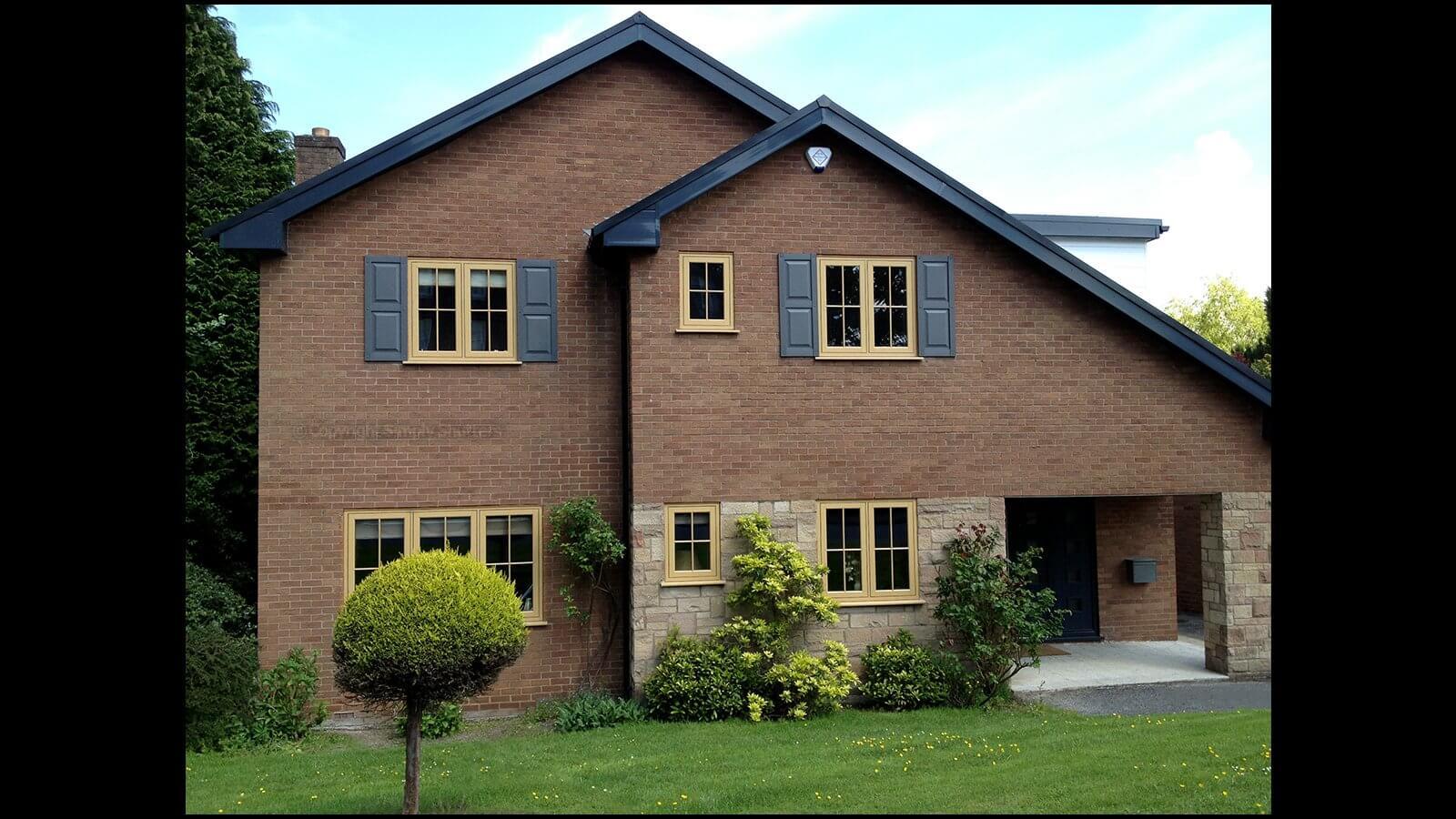 Custom panel decorative exterior window shutters - Decorative window shutters exterior ...