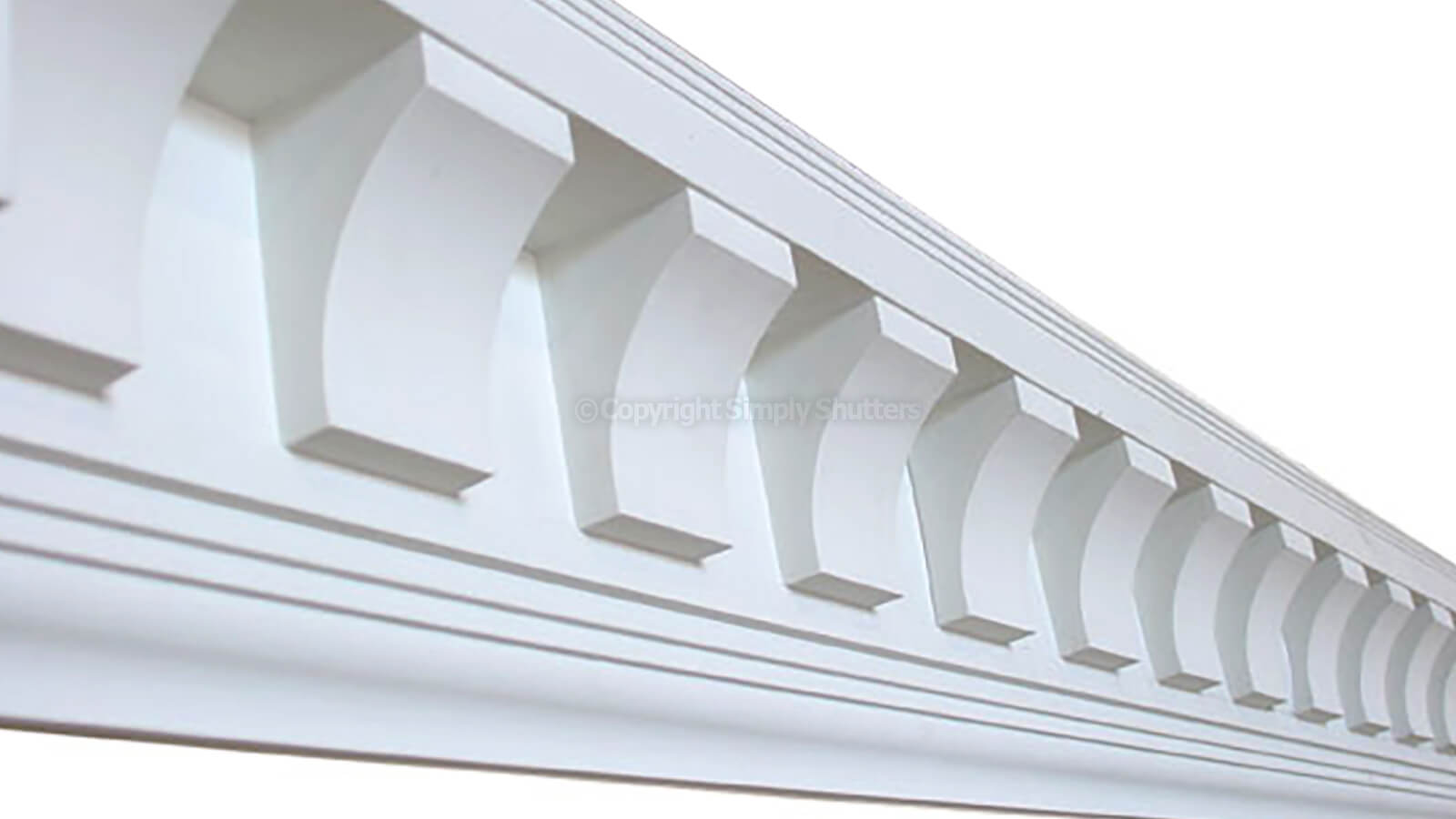 Dentil Trim Carton Of 8 X 1220m Lengths