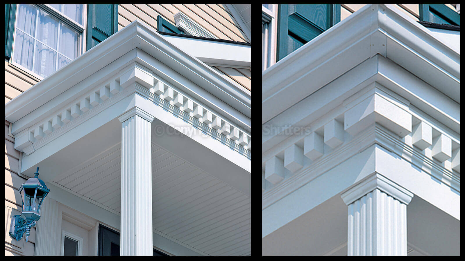 Square Tooth Dentil Trim