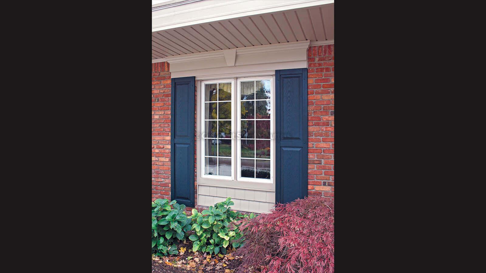 Custom Panel Decorative Exterior Window Shutters Simply