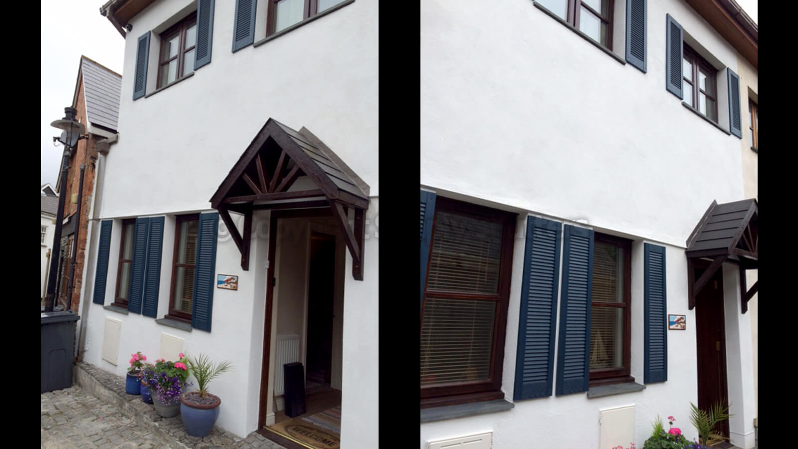 Traditional Louvre Shutters | Straight Top - All Louvre