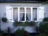Board & Batten & Country Panel Exterior Window Shutters
