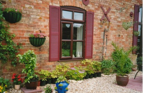 Decorative Exterior Window Shutters Simply Shutters