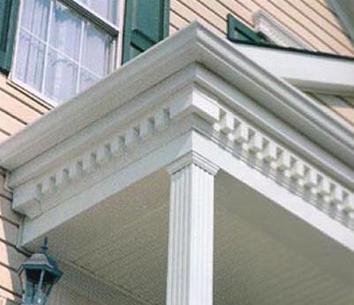 Exterior Trim Mouldings : Dentil trim individual mm lengths