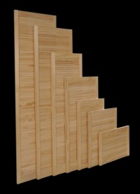High Line superior quality pine louvre shutters