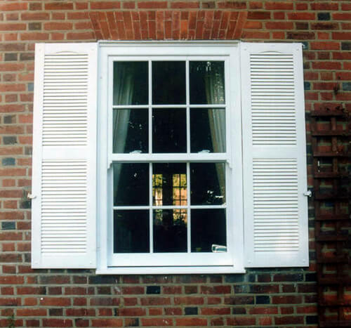 Ready Made Decorative Louvre Window Shutters Simply Shutters