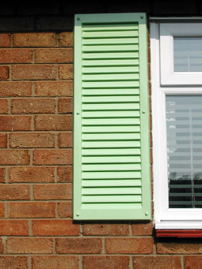 Green Marbella Shutter From Simply Shutters