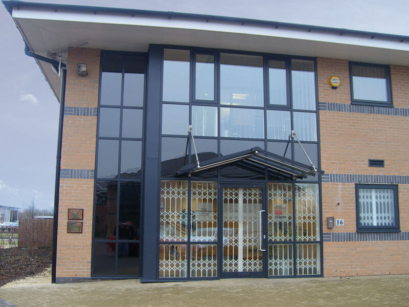 Simply Security Citadel Commercial Security Grille