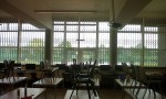 Inside view: Citadel Security Grille in school canteen