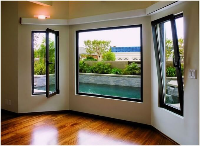 Another stylish aluminium window system
