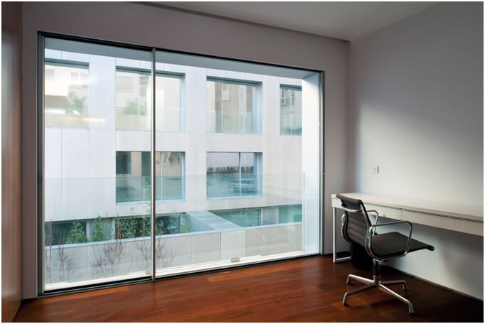 Stylish aluminium window system