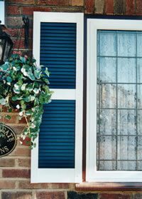 Traditional Louvre Window Shutters from Simply Shutters UK