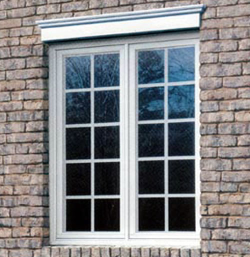 Outdoor Window Trim Brick
