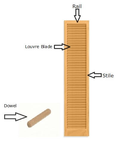 What are the Benefits of using Engineered Stiles in Wood Louvre Doors?