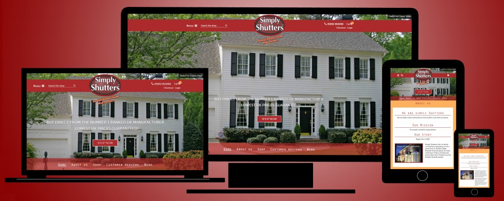 Simply Shutters unveil stunning new website
