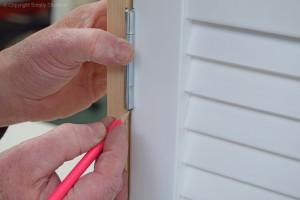 Marking Door and Hinges 2
