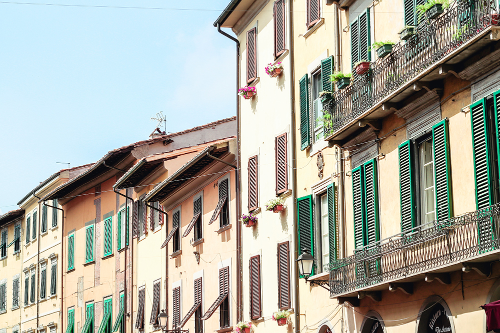 street view numerous shutters on windows
